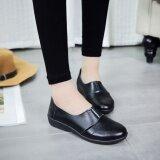 ขาย รองเท้าผู้หญิงกันลื่นแบบไม่มีส้น สีดำ 608 สีดำ รหัสมาตรฐาน 608 สีดำ รหัสมาตรฐาน ถูก