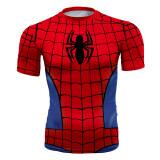 ขาย เสื้อออกกำลังกายสำหรับนักวิ่งชาย รัดรูป Spider Man Spider Man ออนไลน์ ใน ฮ่องกง