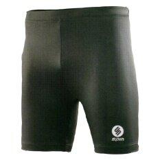 ขาย ซื้อ กางเกงรัดกล้ามเนื้อขาสั้น Spin Sb101 สีดำ ไซร์พิเศษ 3L