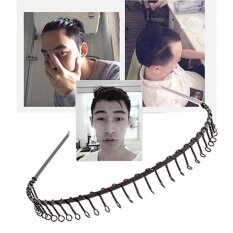 โปรโมชั่น Sport Hairband Mens Sports Headband Toothed Metalfootball Hair Band Women Men Black Intl ใน จีน