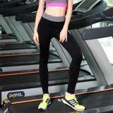 ขาย Sport Outfits By Pani กางเกงออกกำลังกายเนื้อผ้ายืดหยุ่นกระชับทรง สีดำ Unbranded Generic ออนไลน์