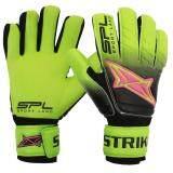 ราคา Sportland ถุงมือ โกล์ว Spl Goal Gloves Strike ฟิงเกอร์เซฟ Fingersave Bk Gn N ใน กรุงเทพมหานคร
