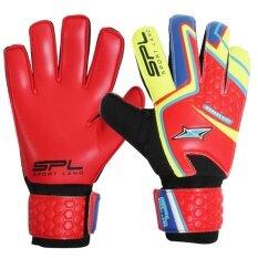 Sportland ถุงมือ โกล์ว Spl Goal Gloves Wonder Kidz Rd Yl ถูก