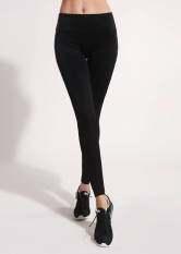 โปรโมชั่น Sportlifeonline กางเกงฟิตเนส Slim Sport สีดำ ถูก