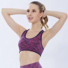 ชุดชั้นในกีฬารูปตัวผมออกกำลังกายเสื้อกั๊กหญิงโยคะออกกำลังกายรวดเร็วแห้งออกกำลังกายทำงานกันกระแทก - นานาชาติ By Liershangmao.