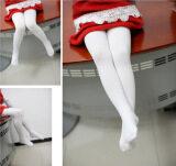 ซื้อ Spring And Autumn White Color Children Girls Clothings Ballet Tights And Leggings ออนไลน์ ถูก