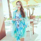 ซื้อ Spring Autumn New Joker Printed Pure Silk Scarves Long Beach Towel Oversized Women Shawl Scarf Intl ออนไลน์ จีน
