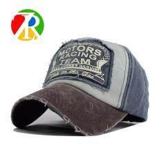 โปรโมชั่น หมวก Spring Cotton Cap Baseball Cap Snapback Hat Summer Cap Hip Hop Fitted Cap Hats For Men Women Grinding Coffee Navy