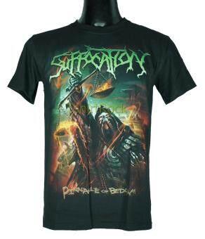 เสื้อวง SUFFOCATION เสื้อยืดวงดนตรีร็อค เมทัล เสื้อร็อคSFT1493 ส่งจากไทย
