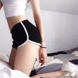 Summer Beach Sports Pants Womens Thin Quick Drying Candy Colors Shorts Intl ใหม่ล่าสุด
