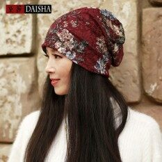 ฤดูร้อนชาติ Breeze ของหญิงผ้าโพกศีรษะผู้หญิงที่พักผ่อนหย่อนใจหมวกไหมพรมบางสไตล์ที่ยอดเยี่ยม Hijab - นานาชาติ By Durant.