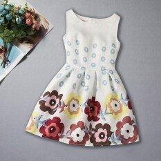 ขาย Summer Sleeveless Print G*Rl Princess Dress Intl ผู้ค้าส่ง