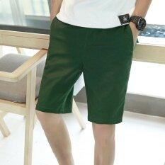 Summer Sport Men Shorts Casual Plus Size Beach Thin Short Pant Intl ถูก