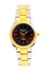 ราคา Sunday America Eagle นาฬิกาข้อมือบุรุษ 2 กษัตริย์ หน้าปัดดำ สายสแตนเลส เป็นต้นฉบับ