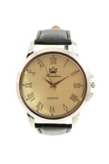 ขาย ซื้อ Sunday นาฬิกาสุภาพบุรุษ สีดำ หน้าปัดขาว สายหนัง รุ่น Kratree ปทุมธานี