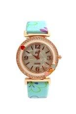 ราคา Sunday นาฬิกาข้อมือผู้หญิง สีฟ้า สายหนัง รุ่น Sunday Olj B1698 Sunday ออนไลน์