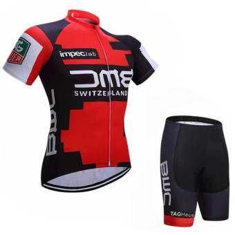 SUPER D SUPER D ชุดสั้นปั่นจักรยานลายทีม ยี่ห้อ:BMC กางเกงเป้าเจล แบบ:ผู้ชาย/ผู้หญิง  -