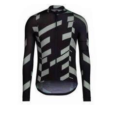 ขาย ซื้อ ออนไลน์ Super D Shop เสื้อเดียวขี่จักรยาน Rapha แขนยาว(สีดำ)