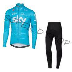 ขาย Super D Shop ชุดยาวปั่นจักรยานลายทีม ยี่ห้อ Sky กางเกงเป้าเจล แบบ ผู้ชาย ผู้หญิง Super D เป็นต้นฉบับ