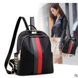 ซื้อ Super Fashion กระเป๋าเป้สะพายหลัง สไตล์เกาหลี รุ่น Jp002 B แถบแดงเขียว ออนไลน์