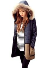 ซื้อ Supercart Winter Women Coat Outerwear Cotton Down Fur Coat Parka Female Overcoat Jacket Intl Unbranded Generic ออนไลน์