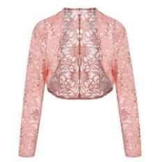 ราคา Supercart Women 3 4 Sleeve Lace Crop Shrug Cardigan Short Shawl Wrap Coat Intl Unbranded Generic เป็นต้นฉบับ