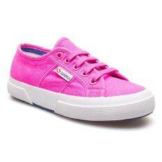 ราคา Superga รองเท้าผ้าใบ รุ่น S007Xh0 C74 Fuxia Fluo ใหม่