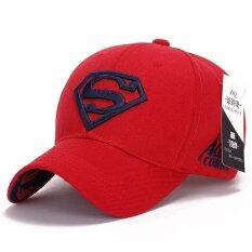 ซื้อ Superman Baseball Cap Hats For Men Women Adjustable S Logo Letter Casual Outdoor Snapback Hat Red Intl