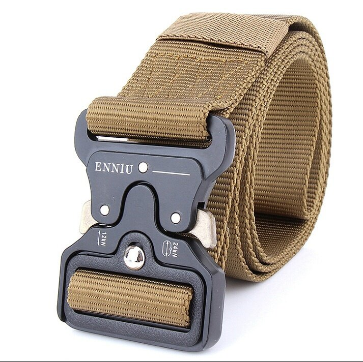 SWAT Equipment Knock Off Army Belt Men's Heavy Duty US Soldier Combat Tactical Belts Sturdy 100% Nylon Waistband 4.5cm - intl