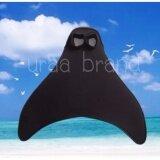 ส่วนลด Swimming Fin Mermaid หางนางเงือก ตีนกบ สำหรับใส่ชุดนางเงือก สำหรับไซส์ผู้ใหญ่ สีดำ Thailand