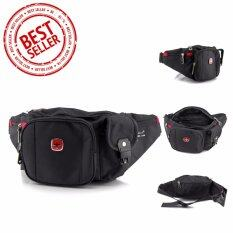 ขาย กระเป๋าคาดเอวSwiss Gear Kw 053 กระเป๋าคาดเอวกันน้ำ กระเป๋าคาดเอวผู้ชาย ราคาถูกที่สุด