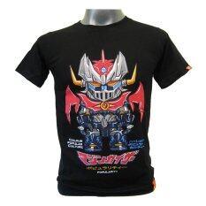 ราคา T Shirt เสื้อยืดคอกลมสกรีนลายซุเปอร์ฮีโร่ สีดำ ถูก