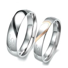 ขาย ซื้อ Tanittgems แหวนคู่ แหวนคู่รักแบบรวมหัวใจ รุ่น Tncr004 กรุงเทพมหานคร