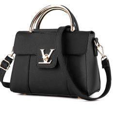 ราคา Tb Fashion กระเป๋าสะพายข้าง กระเป๋าเป้ผ้าไนลอน V2 (Black) เป็นต้นฉบับ Tb