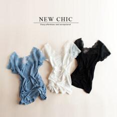 ราคา ที่สวยหรูเสื้อยืดฤดูใบไม้ผลิและฤดูร้อนใหม่ Tee สบายไหล่ สีดำ Unbranded Generic