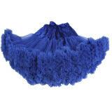 ขาย Teenage G*rl *d*lt Women Pettiskirt Tutu Women Tutu Party Dance *d*lt Skirt Blue ใหม่