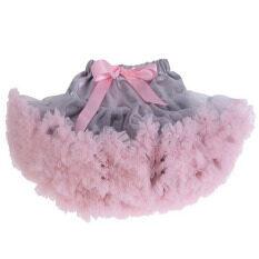 ราคา Teenage G*rl *d*lt Women Pettiskirt Tutu Women Tutu Party Dance *d*lt Skirt Grey With Pink Unbranded Generic เป็นต้นฉบับ