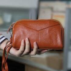 ราคา Tf Women Wallet Han Edition Fashion Leather Zero Wallet Brown Intl สมุทรปราการ