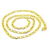 ซื้อ Tfine สร้อยคอชุบทองแท้สีทอง24เคลายแบนทับแปดขนาด 50ส ต ชุบเงาทั้งเส้น ถูก กรุงเทพมหานคร