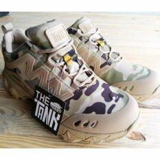 ราคา The Tank รุ่น Gm รองเท้าผ้าใบ เดินป่า กันน้ำ ลายทหาร The Tank ออนไลน์