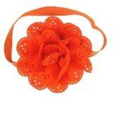 ซื้อ ที่คาดผมเด็ก ที่คาดผมเด็กเล็ก เด็กโต โบว์ผูกผม โบว์คาดผม ที่คาดผมดอกไม้ใหญ่ สีส้ม Standrd
