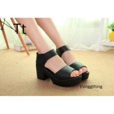 ราคา Thinggthing รองเท้าส้นสูงผู้หญิง แฟชั่นเกาหลี ขาเรียว ยาว Thinggthing เป็นต้นฉบับ