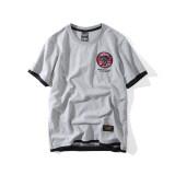 ราคา แบรนด์ Tide ญี่ปุ่นชายวัยรุ่นนักเรียนเสื้อยืดบุคลิกภาพแขนสั้นเสื้อยืด สีเทา เป็นต้นฉบับ Other