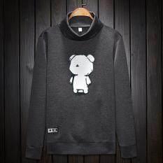 ขาย แบรนด์ Tide เกาหลีฤดูใบไม้ร่วงใหม่เสื้อสวมหัวเสื้อยืดผู้ชายเสื้อกันหนาว 5001 1 หมีกสีเทาเข้ม Unbranded Generic เป็นต้นฉบับ