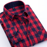 ซื้อ เสื้อเชิ้ตลายสก๊อตของผู้ชายแบบหนา ยี่ห้อYibin Xdm03 Xdm03 Unbranded Generic ถูก