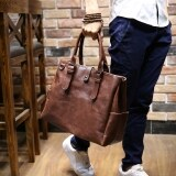 ซื้อ Tidog Crazy Horse Leather Han Edition Men S Bags Leisure Bag Shoulder Bag Intl ออนไลน์ จีน