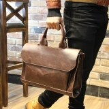 ขาย ซื้อ ออนไลน์ Tidog Crazy Horse Leather Handbag Han Edition Men S Bags Single Shoulder Bag Intl