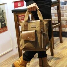 ขาย Tidog Korean Metrosexual Briefcase Bag Business Bag Satchel Shoulder Diagonal Canvas Bag Intl ถูก