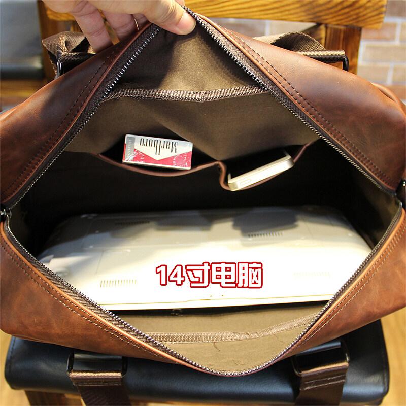 07ac622f37 ... เช็คราคา Tidog Men s outdoor leisure bag Satchel Bag Handbag business  computer male business bag