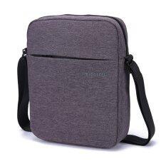 ขาย ซื้อ Tigernu Men Messenger Bag Waterproof Shoulder Bag Business Travel Casual Bag Dark Grey ใน จีน